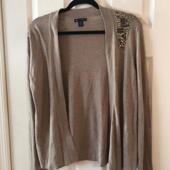 GAP Sweaters - Gap Beaded Cardigan
